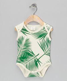 Green Fern Organic Bodysuit