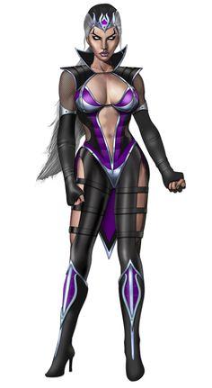 Sindel from Mortal Kombat