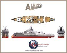 Yacht Design, Explorer Yacht, Expedition Yachts, Luxury Yachts, Skateboard, Ships, Boat, Ocean, Yachts