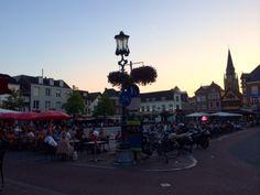 Markt Sittard in Sittard, Limburg