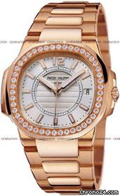 Patek Philippe Nautilus Ladies Watch 32 mm pink gold $41,580 #PatekPhilippe #watches