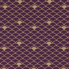 MIDORI''s Nami Gift Wrap is a minimalist artistic expression of bustling, beautiful shores surrounding Japan. http://www.midoriribbon.com/gift-wrap-nami-gold-on-purple/
