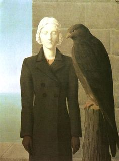 (Belgium) Deep waters, 1941 by Rene Magritte Surrealism. Rene Magritte, Artist Magritte, Max Ernst, Magritte Paintings, Oil Canvas, Deep Water, Art Moderne, Conceptual Art, Amedeo Modigliani