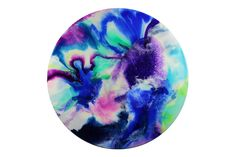 120cm circle resin artwork Abstract art Resin art Airtight Food Storage Containers, Plastic Container Storage, Resin Wall Art, Resin Artwork, Vinyl Record Clock, Vinyl Records, Watercolor Wallpaper, Kitchen Art, Abstract Art