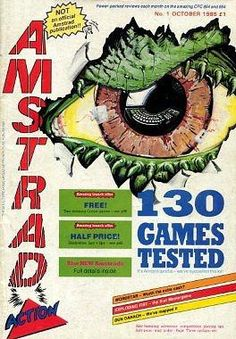 Amstrad Action Magazine Issue 1 (1985)