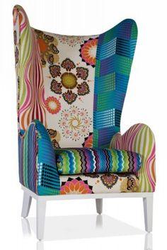 wing chair #fun #funky #furniture