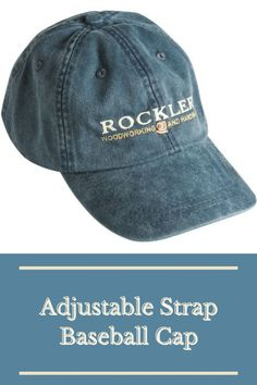This lightweight baseball cap features an embroidered Rockler logo, stylish blue color and an adjustable strap with a ring buckle. The perfect shop hat! Purchase yours here.  #createwithconfidence #rockler #rocklerinnovations #baseballcap #rocklerhat