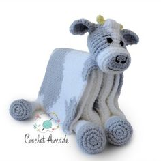 Cow Baby Blanket Crochet Pattern, Cuddle and Play Cow Blanket Toy Crochet Pattern, Crochet Baby Blanket Pattern, Crochet Cow Blanket Pattern Cow Baby Blanket Crochet Pattern Cuddle and Play Cow Blanket image 8 Crochet Cow, Chunky Crochet, Crochet Hooks, Crochet Blanket Patterns, Baby Blanket Crochet, Crib Blanket, Baby Blankets, Practical Baby Shower Gifts, Cow Toys