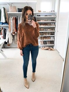casual clothes tips Mom Outfits, Fall Fashion Outfits, Fall Winter Outfits, Look Fashion, Autumn Winter Fashion, Trendy Outfits, Cute Outfits, Fashion Trends, Feminine Fall Outfits