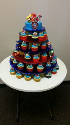 Welcome to Paw Patrol Glow Paw Patrol Cupcakes, Paw Patrol Birthday Cake, Paw Patrol Cake, Paw Patrol Party, 4th Birthday Parties, Birthday Fun, Birthday Ideas, Twin Birthday, Puppy Party