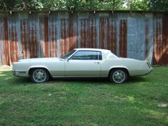 1967 Cadillac Eldorado - $1800 (Nashville)  Date: 2012-06-05, 8:34PM CDT  Reply to: see below [Errors when replying to ads?]  Restore or part out. Starter went out about 3years ago and I park in a barn where it still sits. Car has a clear title. $1800.00 OBO call 615-517-8155 leave message if no answer will return call asap. Top two pictures are from summer of 2009 just before I parked it . Others are were in march 2012.