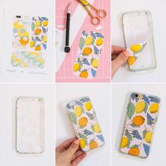 DIY Printable Smart Phone Case Designs @LovelyIndeed