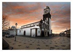 Igreja Matriz de São Sebastião, Ponta Delgada, San Miguel, Acores - my Dad was baptized here