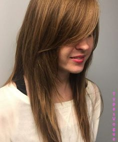 36 Greatest Long Shag Haircuts to Try This Year elcome to your new favorite look – the long shag haircut! Haircuts For Long Hair With Bangs, Long Shag Hairstyles, Shaggy Haircuts, Long Hair Cuts, Hairstyles With Bangs, Cool Hairstyles, Layered Haircuts, Asymmetrical Haircuts, Straight Hair
