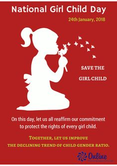 Image result for national girl child day 2019