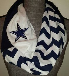 Dallas Cowboys Infinity Scarf loop scarf by ItsPeachyKeen on Etsy Cowboy Outfits, Football Outfits, Sporty Outfits, Football Team, Dallas Cowboys Quotes, Dallas Cowboys Gear, Cowboys Gifts, Cowboys Men, Cowboy Love