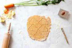 Apfel-Karotte-Frühstückskekse