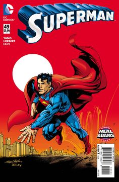 "*High Grade* (W) Greg Pak, Aaron Kuder (A) Aaron Kuder (CA) Neal Adams (W) Gene Luen Yang (A) Howard Porter (CA) Neal Adams ""Savage Dawn"" continues! Superman and Wonder Woman lead an army of gods and"
