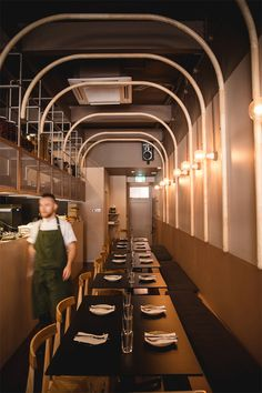 Williams Burton Leopardi » Iberia Industrial Restaurant, Restaurant Lounge, Vintage Restaurant, Restaurant Lighting, Restaurant Ideas, Hotel Decor, Cafe Design, Bakery Design, Architecture Restaurant