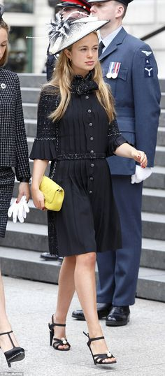 She stunned on the cover of Tatler recently, and Lady Amelia Windsor, 20, the Duke of Kent...
