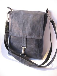 Waxed Canvas Bag Waxed Canvas Crossbody Bag Mens Crosbody