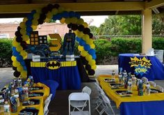 Batman Birthday Party Ideas | Photo 7 of 24 | Catch My Party