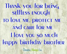 Birthday Wises For Brother - Top 100 Brother's Birthday Wishes