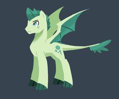 T, short for Turquoise Blitz! Son of Rarity and Spike!