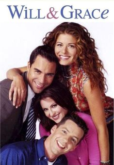 Will Truman (Eric McCormack), Karen Walker (Megan Mullaly), Jack McFarland (Sean Hayes). Dying to get the complete series of this show! Mtv, Movies Showing, Movies And Tv Shows, I Love Series, John Wilson, Debra Messing, Will And Grace, Old Shows, Comedy Tv