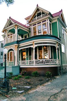 Victorian House on Greene Street in downtown Augusta, Georgia