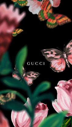 gucci iphone wallpaper flowers
