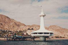 Eilat, Israel - Restaurant under the Red Sea