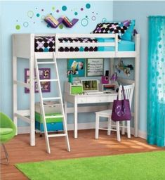 bedroom perfect for pre-teens.
