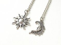 Sun and Moon Necklace,friendship Necklaces,his Hers,couples Necklace,best Friend Necklaces,boyfriend Girlfriend Gift, accessories island http://www.amazon.com/dp/B013Q5WT90/ref=cm_sw_r_pi_dp_SNK5vb1SJ3M7X