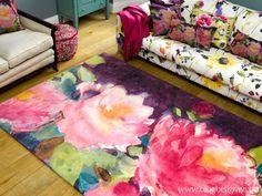 bluebellgray's new 'Cait' rug design www.bluebellgray.com