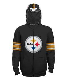 ceaeae0c0 Pittsburgh Steelers Full-Zip Helmet Hoodie - Boys by NFL  zulily   zulilyfinds Steelers
