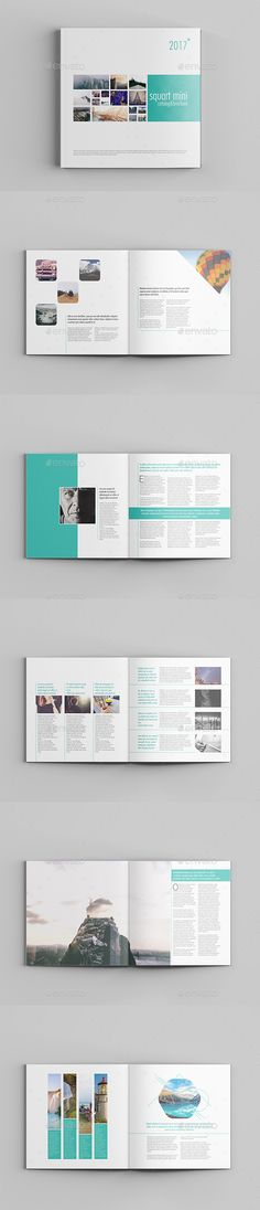 Squart Mini Catalog Template InDesign INDD - 12 Pages
