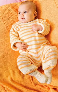 Baby-Strampler – Knitting Blanket For Boys Free Knitting, Baby Knitting, Crochet Baby, Knitting Patterns, Knit Crochet, Baby Boy Blankets, Knitted Baby Blankets, Baby Overall, Moda Emo