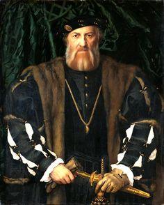 Hans Holbein der Jüngere, Charles de Solier, Sieur de Morette (1534-35, Gemäldegalerie Alte Meister, Dresden)