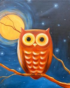 'Night Owl' from Uptown Art Uncorked