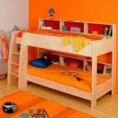 Bunk Beds For Toddler Boys | bunk beds clever decision in kids bedroom colorful bunk bed for kids ...