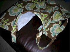 DIY nursing cover sewing pattern