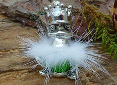 Charm Anhänger Froschkönig  von Beads-for-Beginners auf DaWanda.com