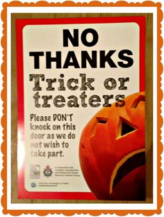 This might be useful for those who do not wish to engage with Halloween.