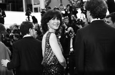 Pin for Later: Le Festival de Cannes en Noir et Blanc, C'est Encore Mieux! Sophie Marceau