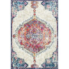 3d99c9c3e30 Shop nuLOOM Bohemian Medallion Area Rug - On Sale - Free Shipping Today -  Overstock -