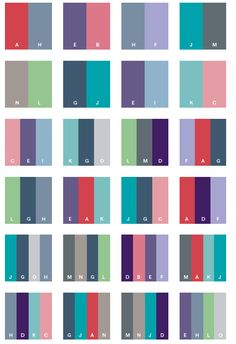 great color combinations | beautiful color schemes, color
