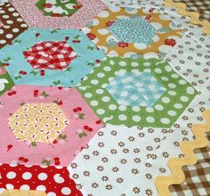 Sew Cherry Fabric, not released yet. Love the fabric and the quilt!
