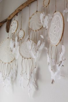 Doily dreamcatchers ...