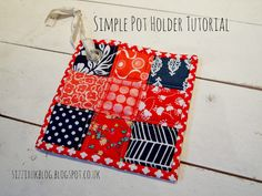 Crafting ideas from Sizzix UK: simple pot holder tutorial